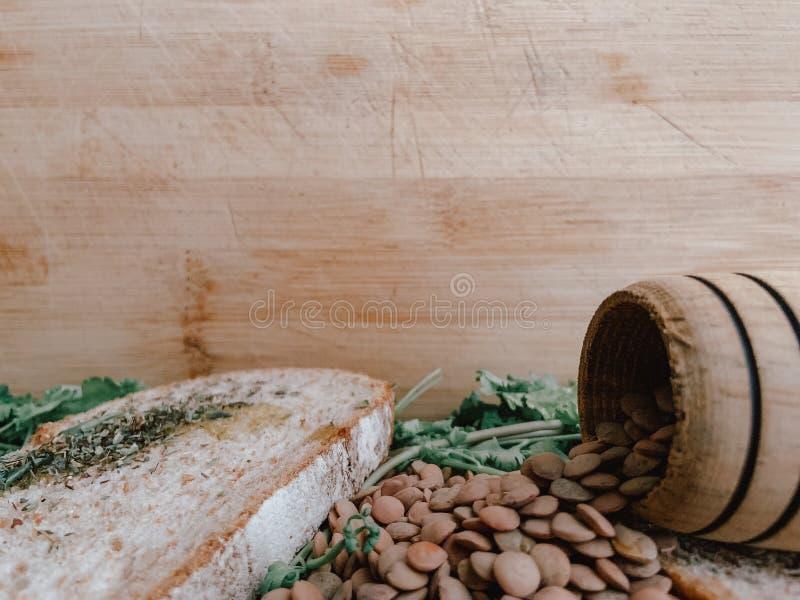 Gezond Voedsel voor Writte binnen Restaurantbanner Veganistvoedsel stock afbeeldingen