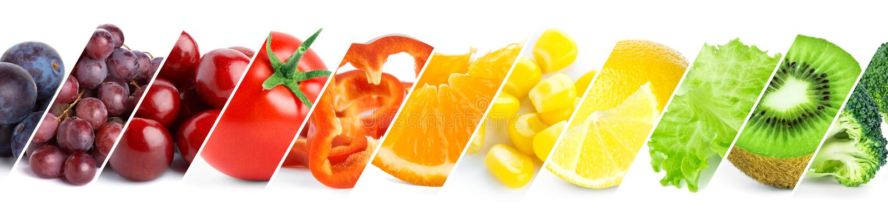 Gezond voedselconcept royalty-vrije stock foto's