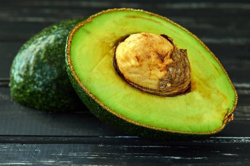 Gezond voedselconcept, verse avocado stock foto