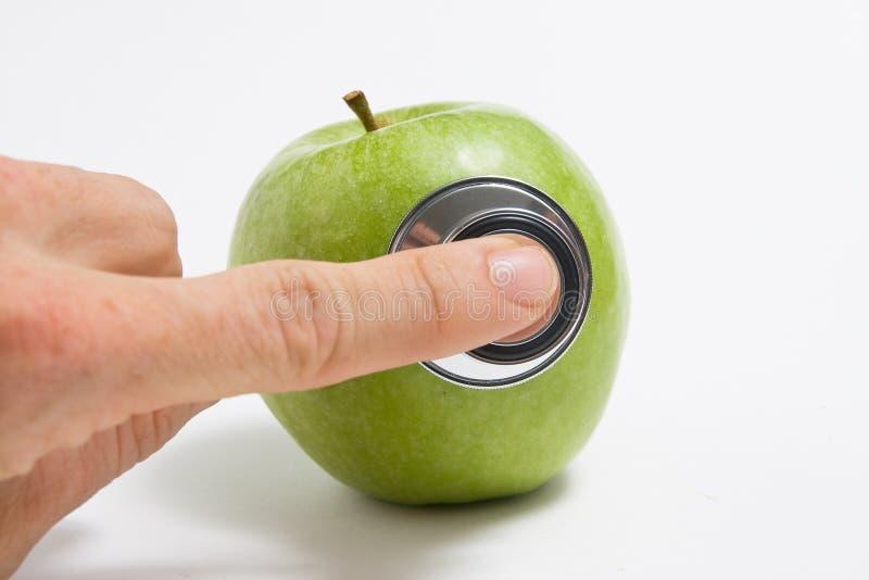 Gezonde appel stock foto's