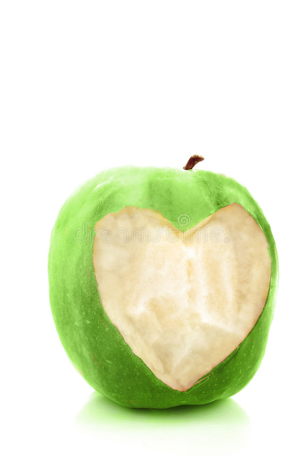 Gezonde appel stock afbeelding