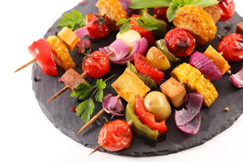 Gezonde barbecue royalty-vrije stock afbeelding