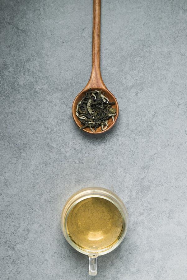 Gezonde Chinese thee, theeceremonie royalty-vrije stock afbeelding