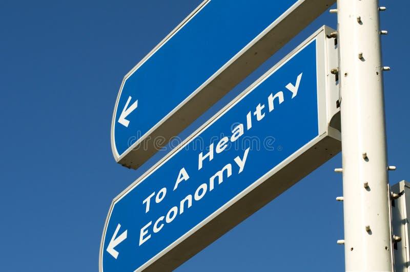 Gezonde Economie stock afbeelding