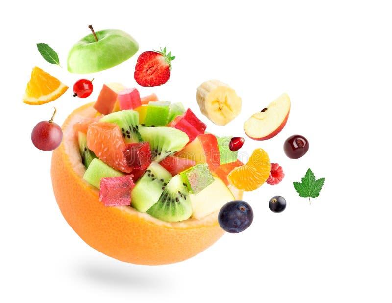 Gezonde fruitsalade stock fotografie