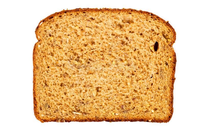 Gezonde het broodplak van de multi-korrel royalty-vrije stock foto
