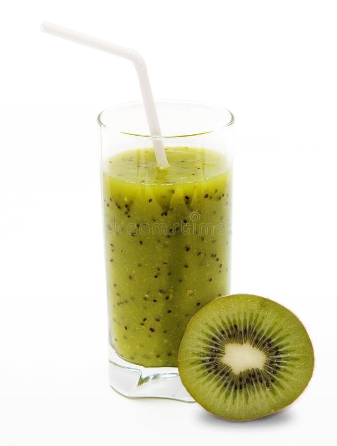 Gezonde kiwi smoothie royalty-vrije stock fotografie