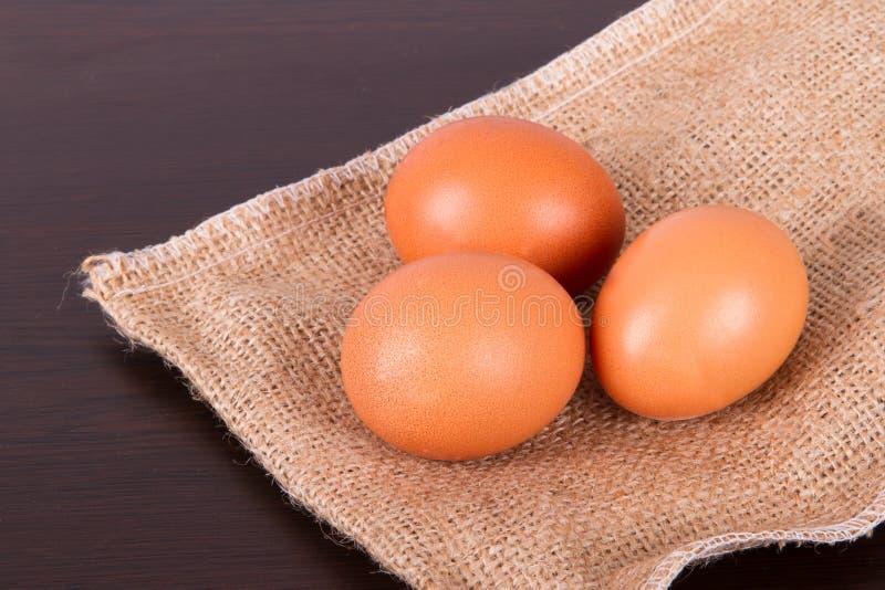 Gezonde Natuurlijke Organische Eieren royalty-vrije stock afbeeldingen