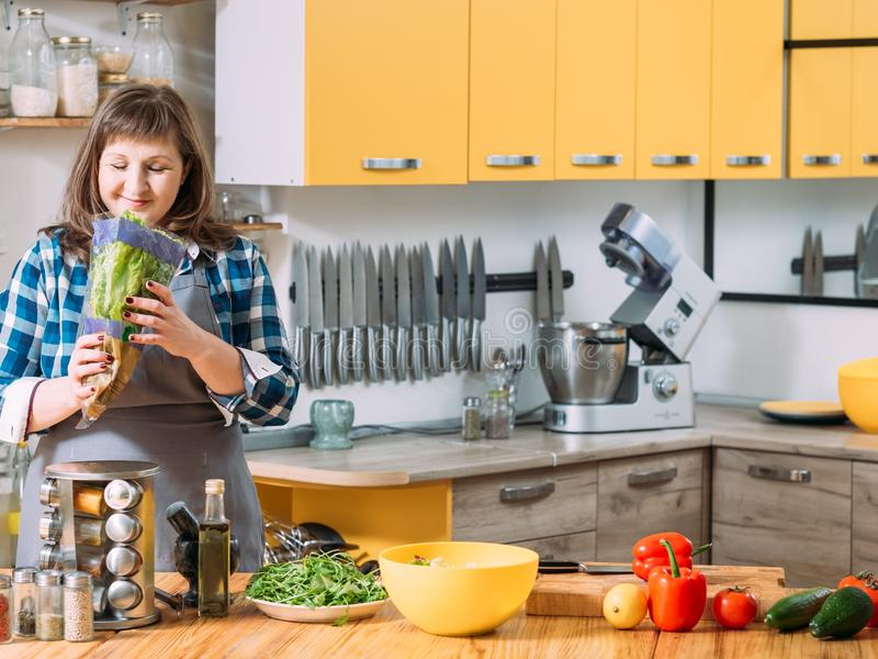 Gezonde natuurvoeding vegetarische voeding royalty-vrije stock afbeelding