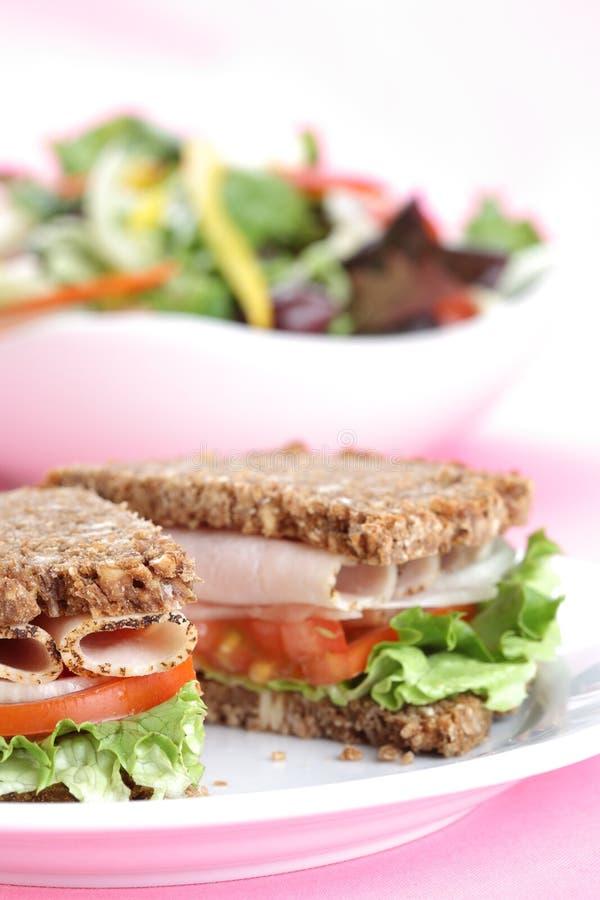 Gezonde sandwich 2 royalty-vrije stock afbeelding