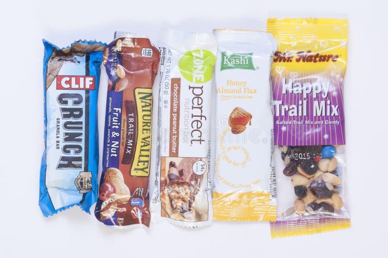 Gezonde Snacks stock foto's
