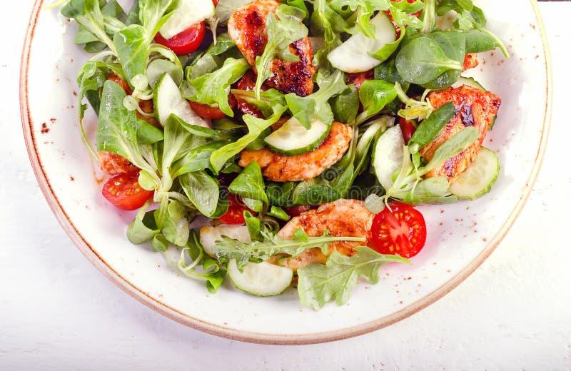 Gezonde Verse Salade royalty-vrije stock foto's
