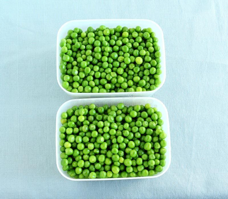 Gezonde Voedsel Gekookte Erwten royalty-vrije stock afbeeldingen