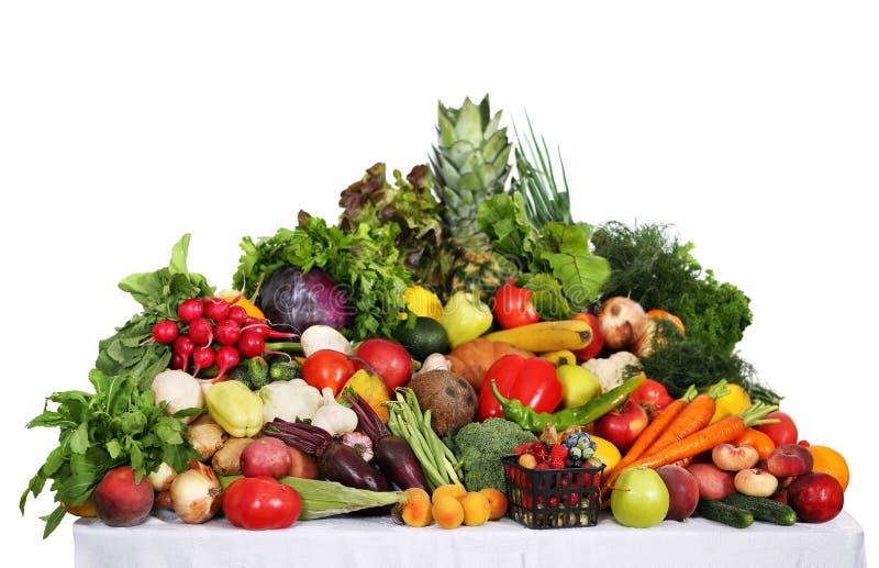 Gezonde voedselachtergrond stock afbeeldingen