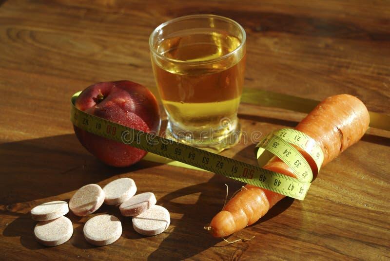 Gezondheid en dieet stock foto's