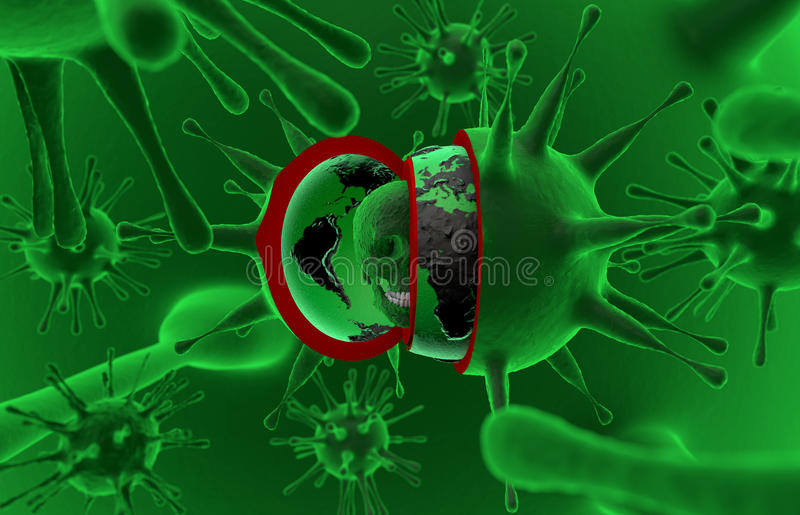 Gezondheid, epidemie, virus, ebola stock foto's