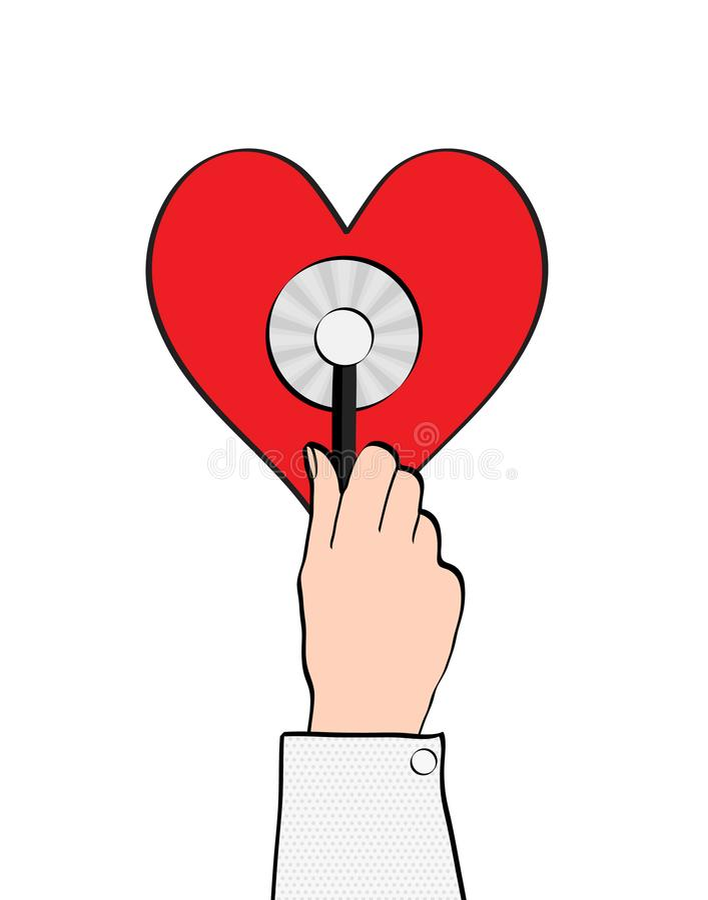 Gezondheidszorg en geneeskundeconcept - sluit omhoog van mannelijke artsenhand h vector illustratie