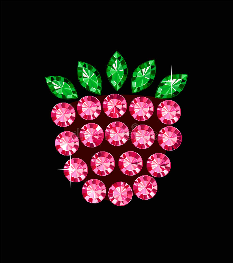 Download Ggem Raspberry stock photo. Image of diamond, diet, money - 34632414