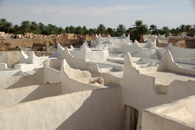 ghadames Libya dachy obrazy royalty free
