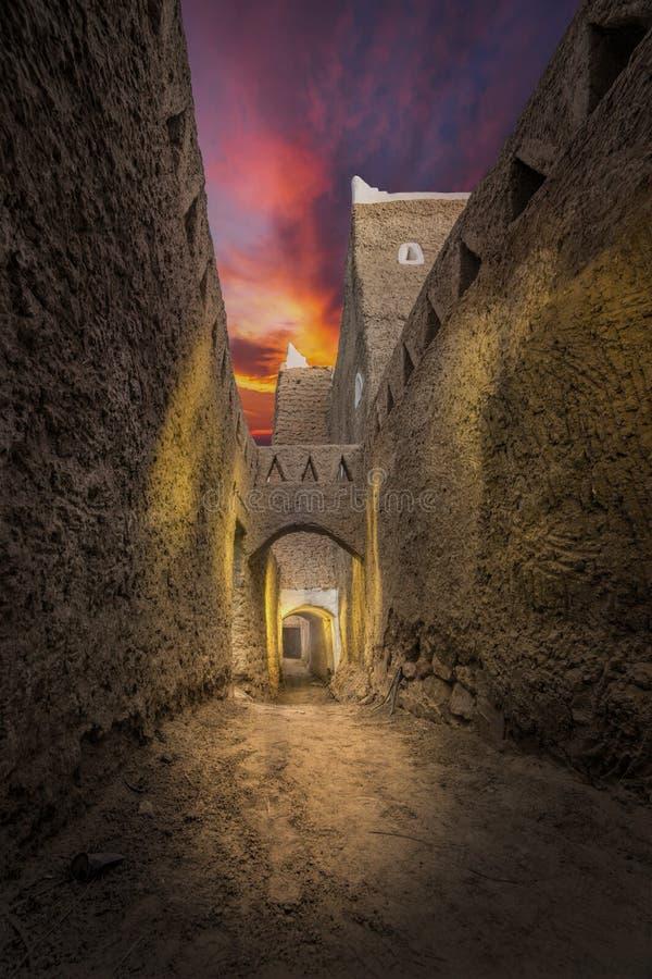 Ghadames Libyen fotografering för bildbyråer