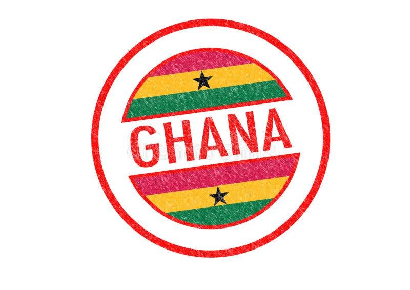ghana ilustración del vector
