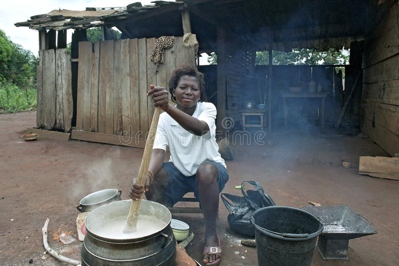 African Cuisine Editorial Photo Image Of Couscous Woman