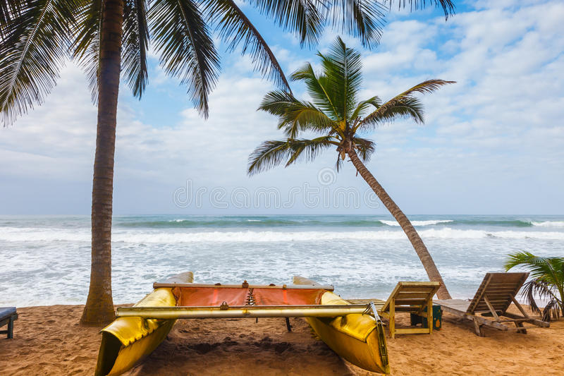 Ghana Coastline royalty free stock photos