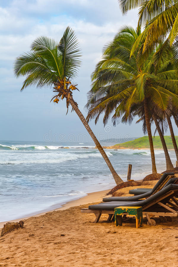 Ghana Coastline royalty free stock photo