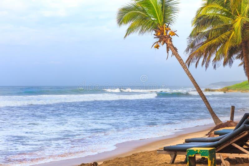 Ghana Coastline royalty free stock photography