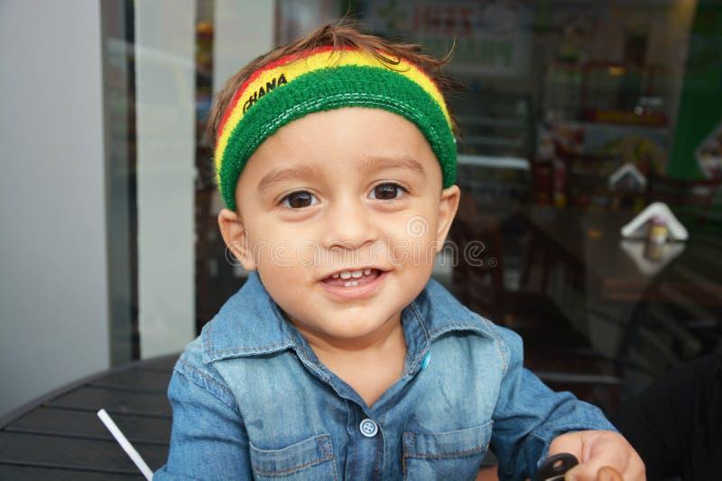 Ghana-Fan lizenzfreie stockfotografie