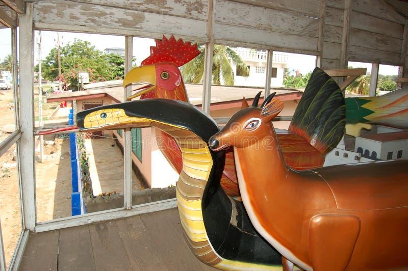 Ghana-Fantasiesärge lizenzfreie stockbilder