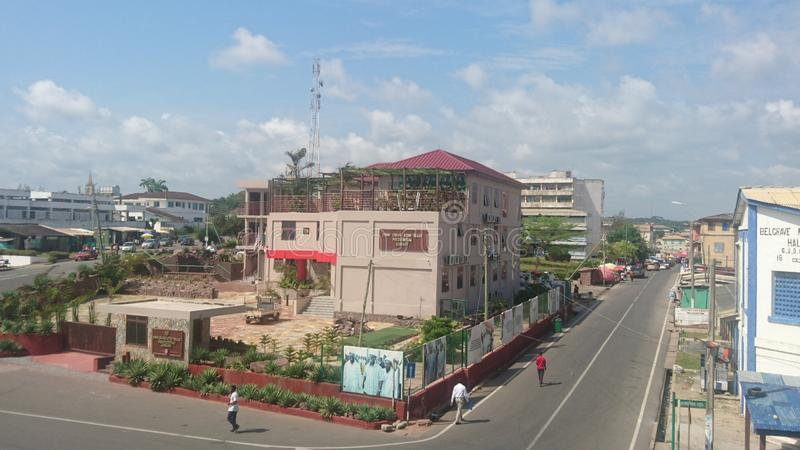 Ghana-Präsident John Atta Mills Memorial lizenzfreie stockfotografie