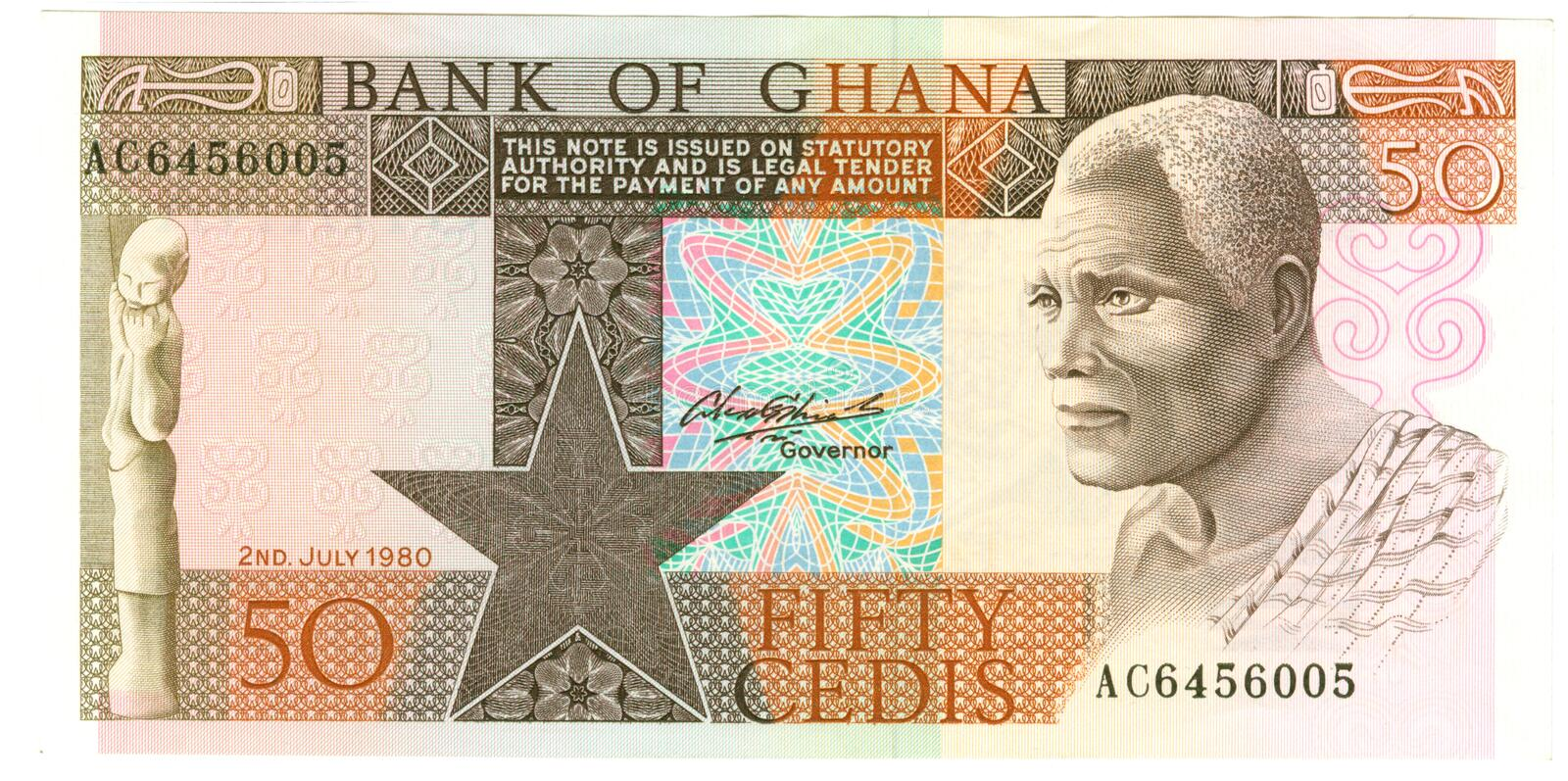 Download Ghanaian banknote stock image. Image of cedis, paper, money - 3044243