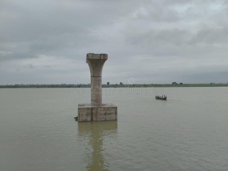Ghandhi Ghat NIT Patna, la India imagen de archivo