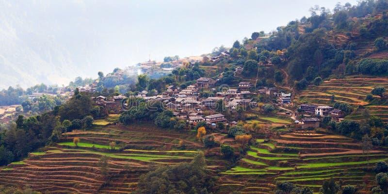 Ghandruk village, Nepal royalty free stock images