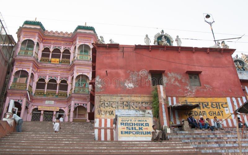 Ghat cor-de-rosa fotografia de stock