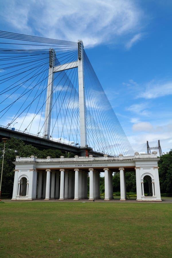Ghat de Kolkata Prinsep fotografia de stock royalty free