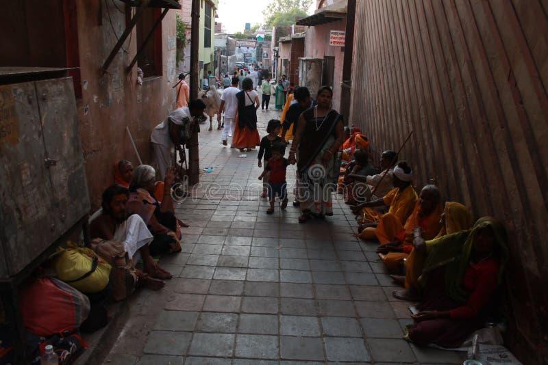Ghati mathura india de Dhan foto de stock