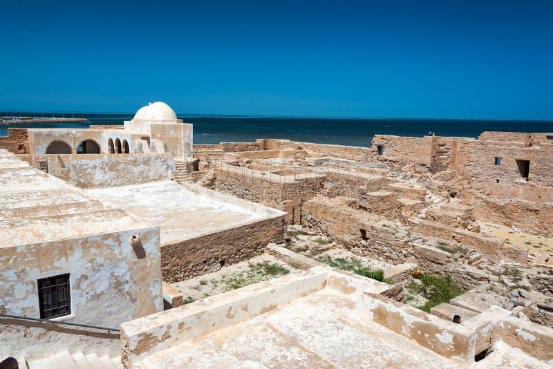 Ghazi Mustapha fort w Houmt Souk zdjęcie stock