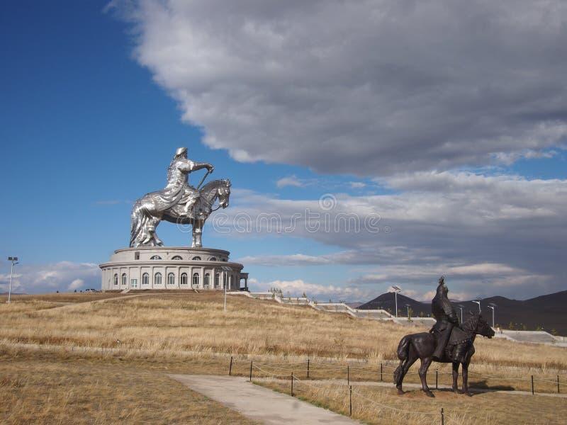 Gheghis Khan Monument royalty-vrije stock fotografie