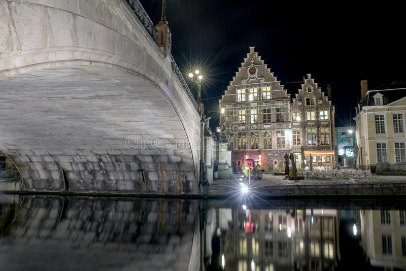 Ghent City royalty free stock photos