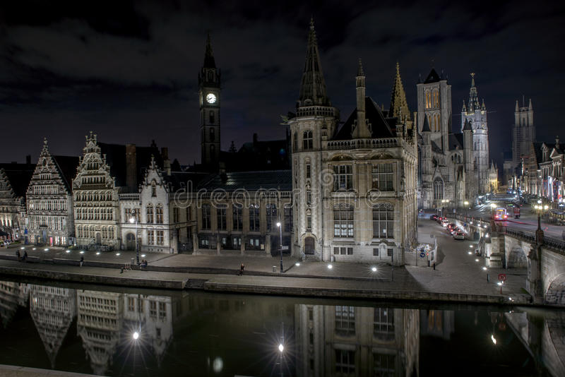 Ghent City stock photography