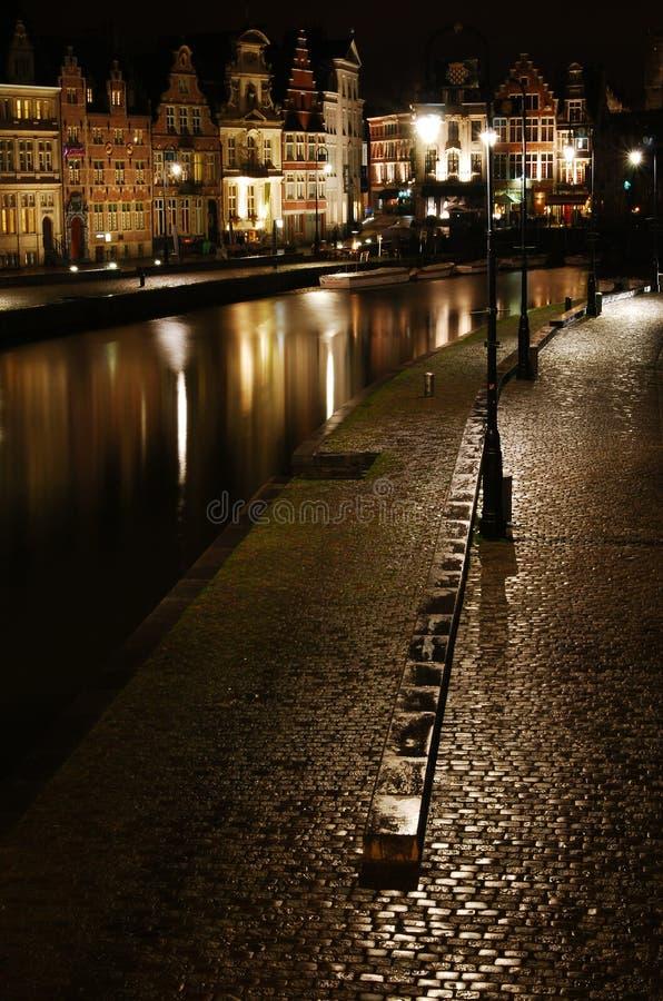 Download Ghent graslei stock photo. Image of tourist, merchants - 17204538