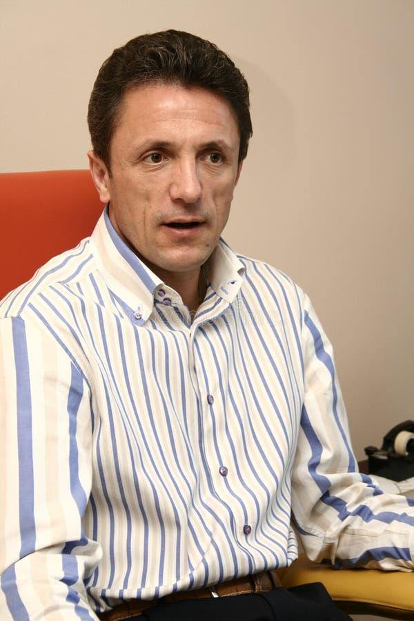 Gheorghe Popescu imagen de archivo libre de regalías