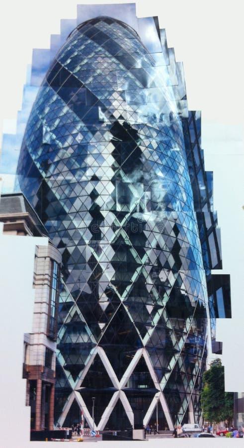 Gherkin Building Joiner stock image