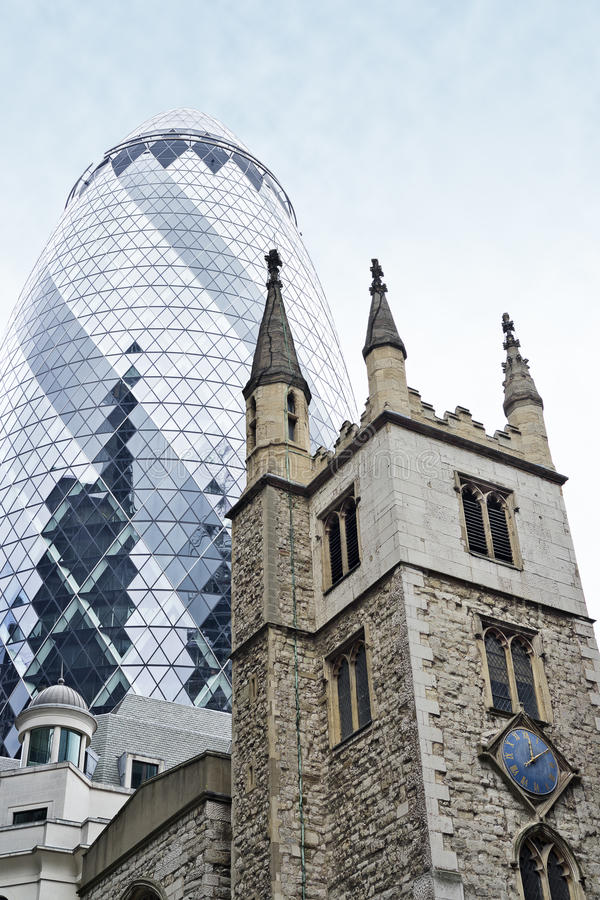 The Gherkin stock photography