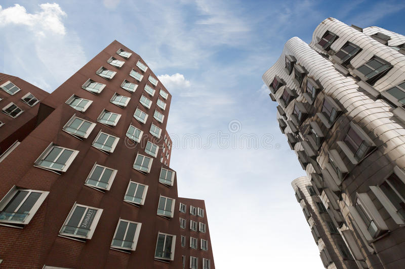 Ghery Building - Dusserldorf royalty free stock images