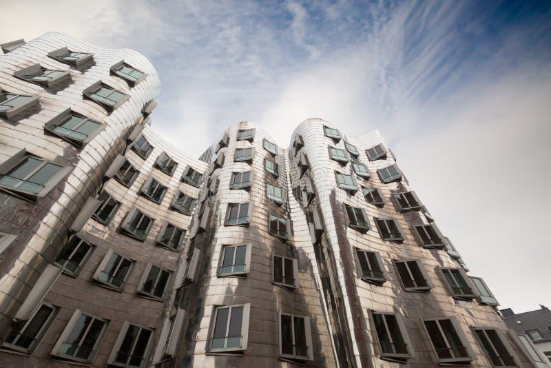 Ghery Building - Dusserldorf stock photo