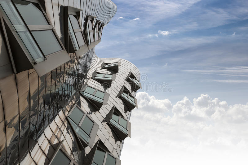 Ghery Building - Dusserldorf stock image