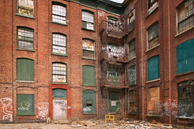 Ghetto Building Royalty Free Stock Photos